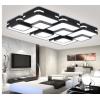 厂家直销现代简约长方形led客厅吸顶灯客厅灯温馨家用照明灯具
